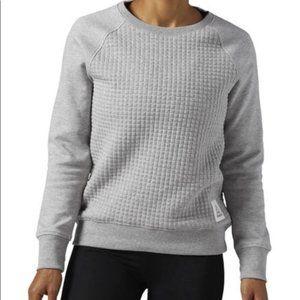 Reebok | Elements Quilted Crew Sweatshirt sz S
